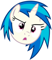 Vinyl Scratch - WTF? by namelesshero2222