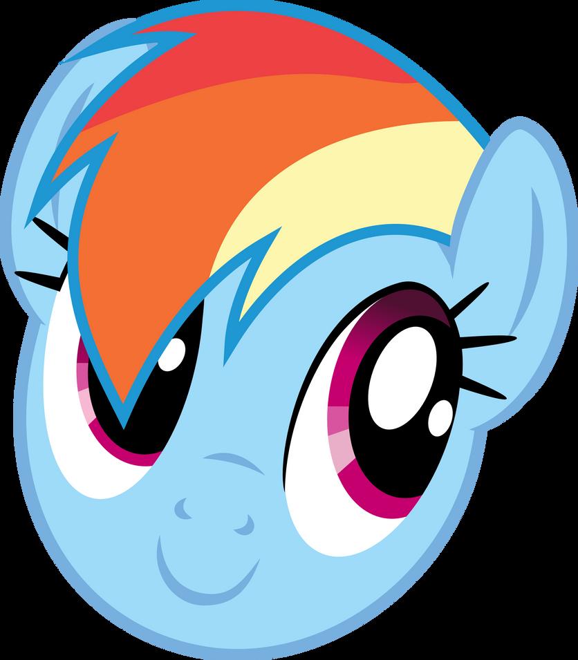 Rainbow Dash - Enjoying the sunny weather? by namelesshero2222
