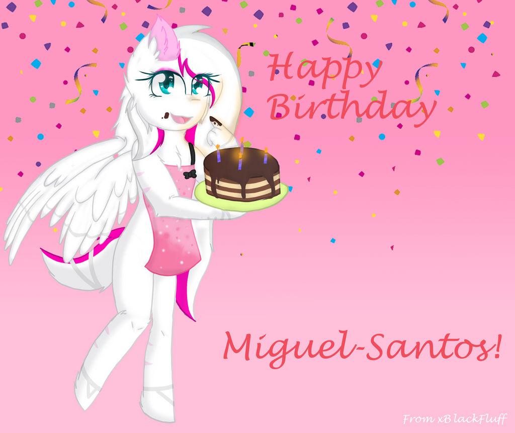 Happy Birthday Miguel! by xBlackFluff