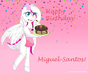 Happy Birthday Miguel! by xBlackFluff