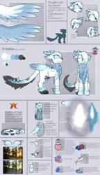 ~ [ Frostie Reference Sheet ] ~ by xBlackFluff