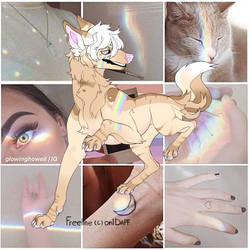 Pastel Rainbow Mystery Adopt [ 185 points ] CLOSED by xBlackFluff