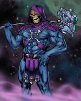 Skeletor by SpiderGuile by Ronron84