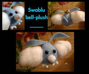 Swablu bell-plush by TasogareKitsune