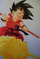 ''Let's Have Some Fun!'' Kid Goku by SakakiTheMastermind