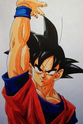 Happy Birthday, Toriyama-sensei! .:Son Goku:. by SakakiTheMastermind