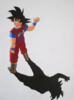 ''See You Next Time!'' - Son Goku by SakakiTheMastermind