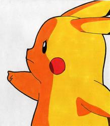 Tegami Art No.55 .:Pikachu:. by SakakiTheMastermind