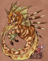 Venomous Hippocampus by GoredGuar