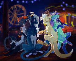 Fun at the Carnival by GoredGuar