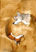 Dualism by FoxInShadow