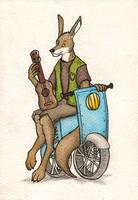 I'm a kangaroo by FoxInShadow