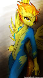 Spitfire by FoxInShadow