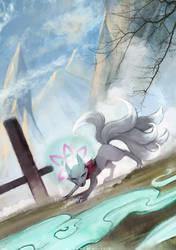 Kitsune by FoxInShadow