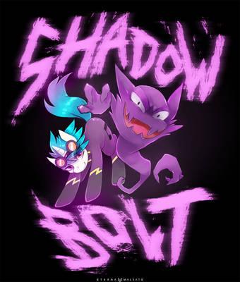 Shadow Bolt by FoxInShadow