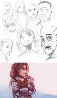 Sketchdump 2 by FoxInShadow