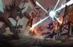 Time Loop Trilogy cover by FoxInShadow