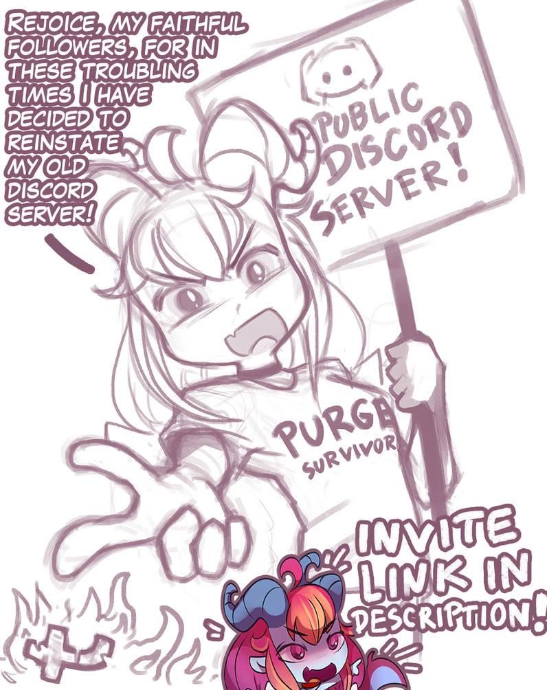 Public Discord by FoxInShadow