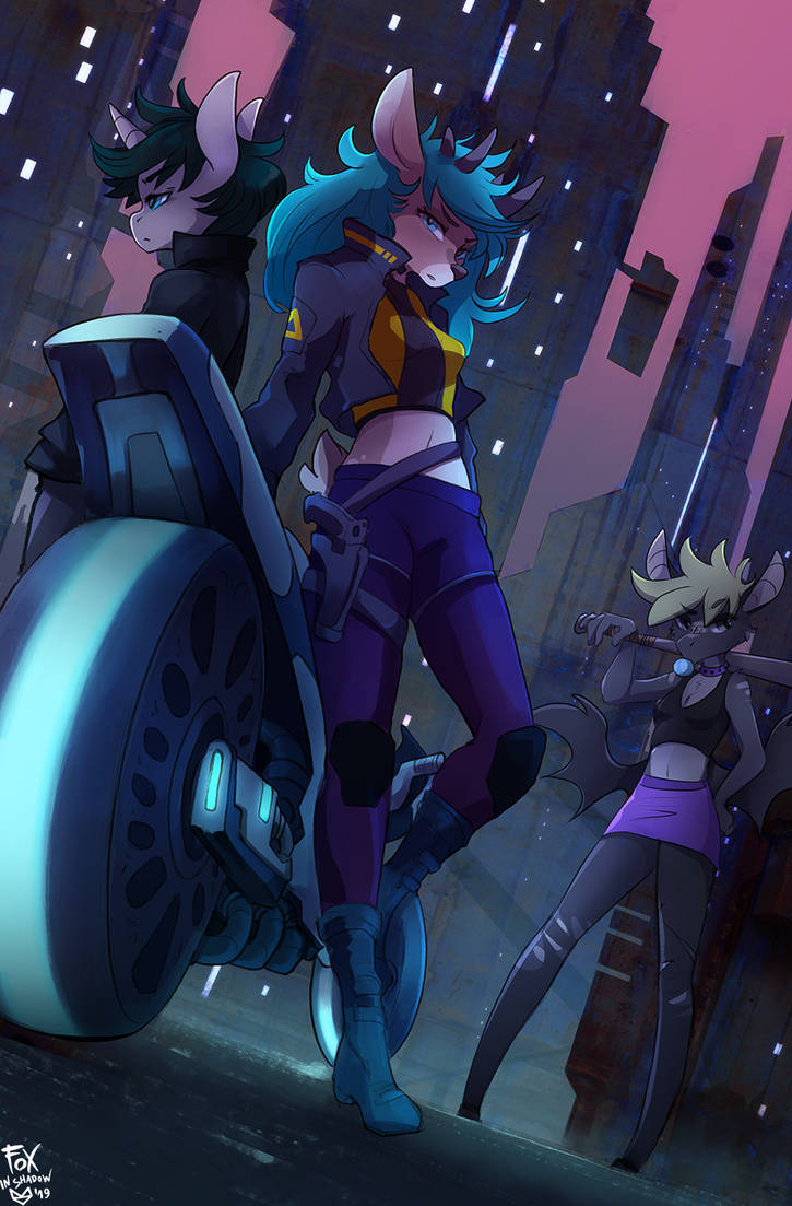 Cyber by FoxInShadow