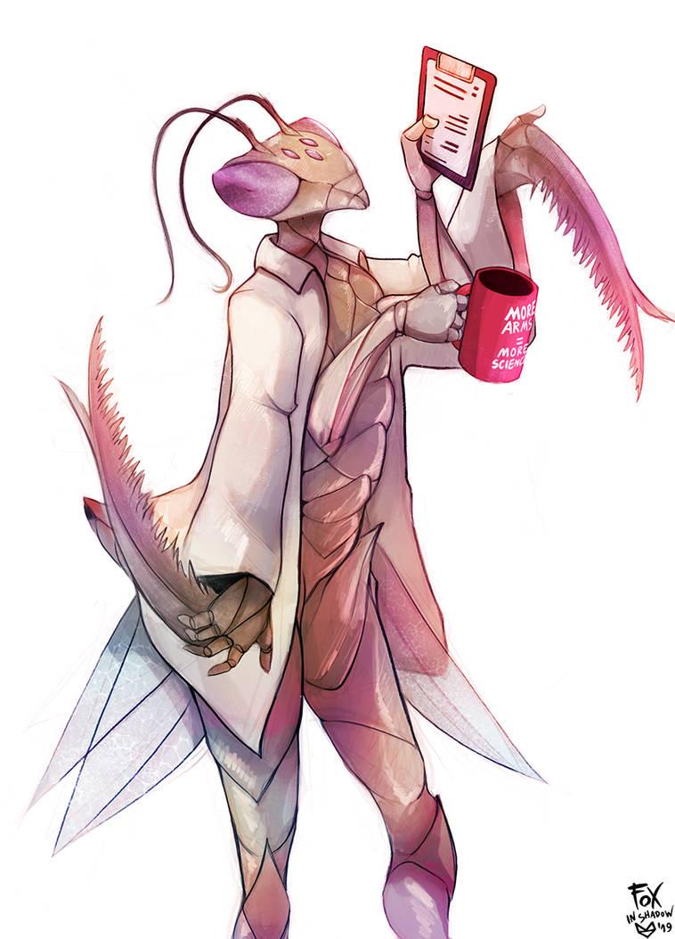 Mantis by FoxInShadow