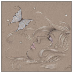 White Stars by Zindy