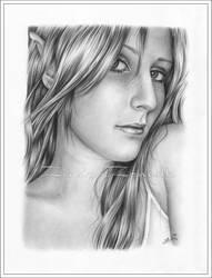 Elf Girl by Zindy