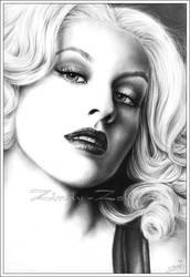 Christina Aguilera 2008 by Zindy