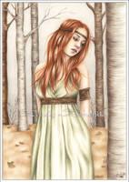 Autumn Princess by Zindy