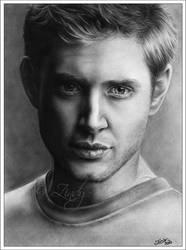 Jensen Ackles - Dark to Light by Zindy