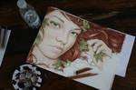 Redhead girl - wip by Zindy