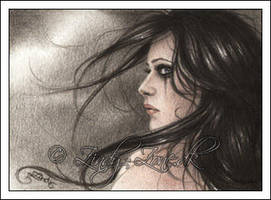 Gloomy Days ACEO by Zindy