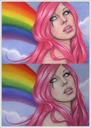 Rainbow Girl by Zindy