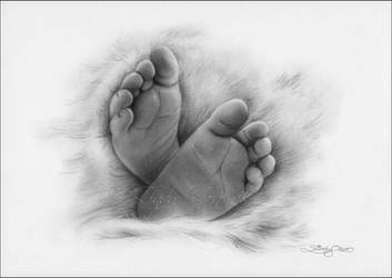 Baby Feet by Zindy