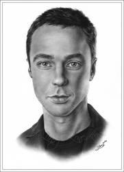 Sheldon Cooper - Bazinga by Zindy