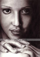 Jessica Alba.. by Zindy