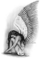 Calm Angel by Zindy
