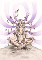 Meditation by Zindy