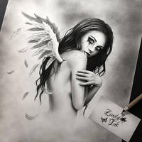 Broken Angel WIP by Zindy