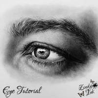 Charcoal Eye Tutorial by Zindy