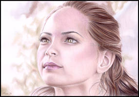 Kristin Kreuk in colour by Zindy