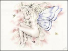 Sleeping Fairy by Zindy