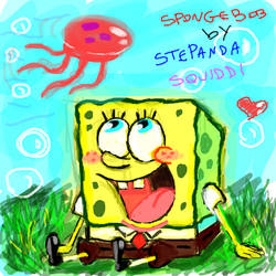SpongeBob doodle by StePandy