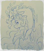 Discord and Celestia by StePandy