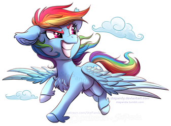 Rainbow Dash by StePandy