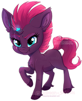 Chibi Tempest Shadow by StePandy