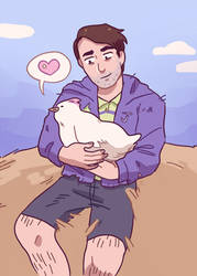 i started playing stardew valley by Hugebballshorts