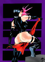 Psylocke testing colors by MarcelTheSouza