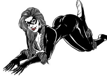 Black Cat by MarcelTheSouza