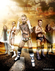 Wrestlemania 31 Poster by workoutf