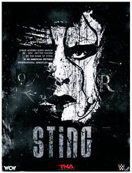 WWE Sting Poster2016 by workoutf